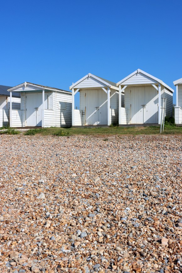 Cooden Beach Huts Sussex Coast © Lavender's Blue Stuart Blakley