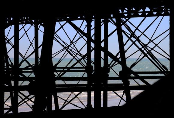 Pier Structure Eastbourne East Sussex © Lavender's Blue Stuart Blakley