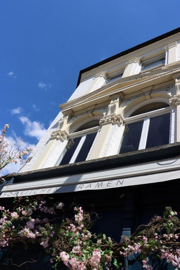 Kibou Japanese Restaurant Northcote Road London © Lavender's Blue Stuart Blakley