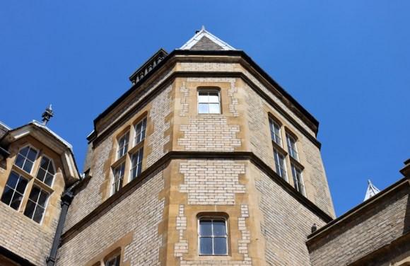 Royal Victoria Patriotic Building Wandsworth London Chamfered Tower © Lavender's Blue Stuart Blakley67