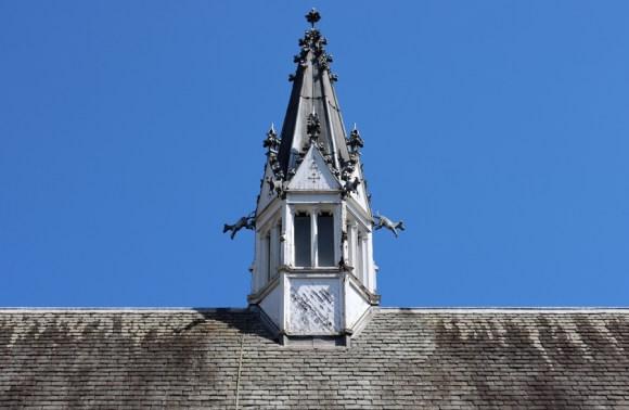 Royal Victoria Patriotic Building Wandsworth London Great Hall Pinnacle © Lavender's Blue Stuart Blakley