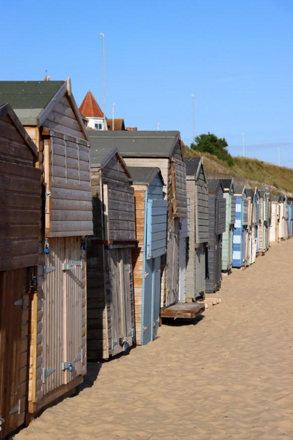 Beach Huts Westbrook Bay Margate Kent © Lavender's Blue Stuart Blakley