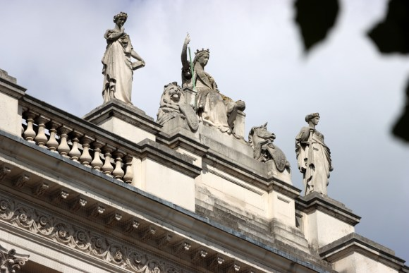 Rooftop The Foreign and Commonwealth Office London © Lavender's Blue Stuart Blakley