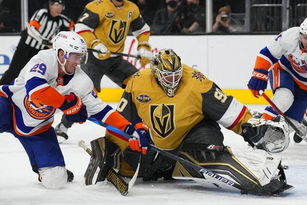Golden Knights continue to struggle, shut out against Islanders