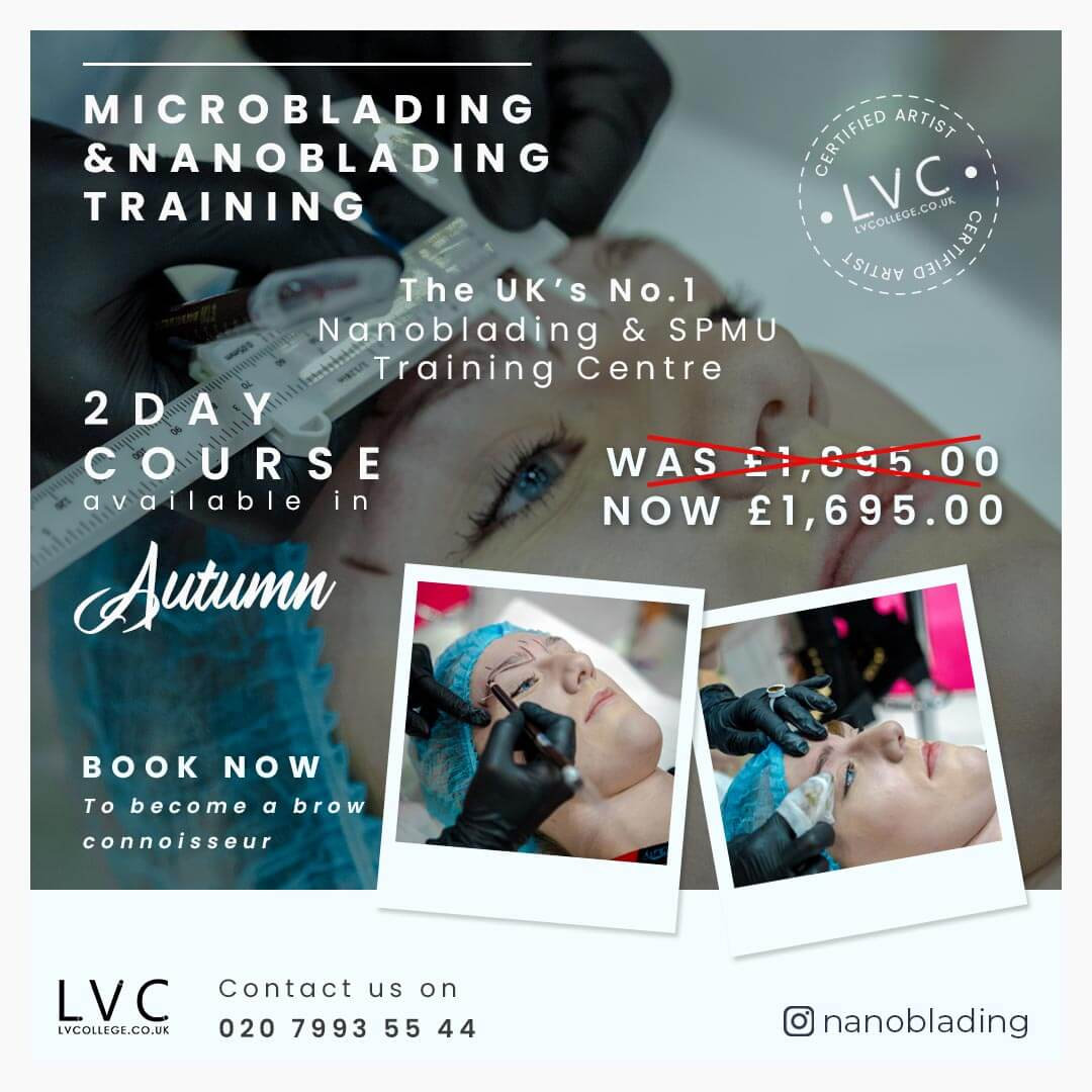 NB1 Microblading & Nanoblading Was £1,895.00; Now £1,695.00