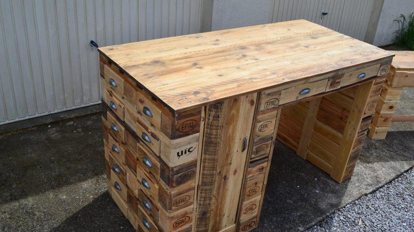 neufchatel hardelot fabriquer ses meubles avec des palettes auto entrepreneurs ateliers chez leroy merlin