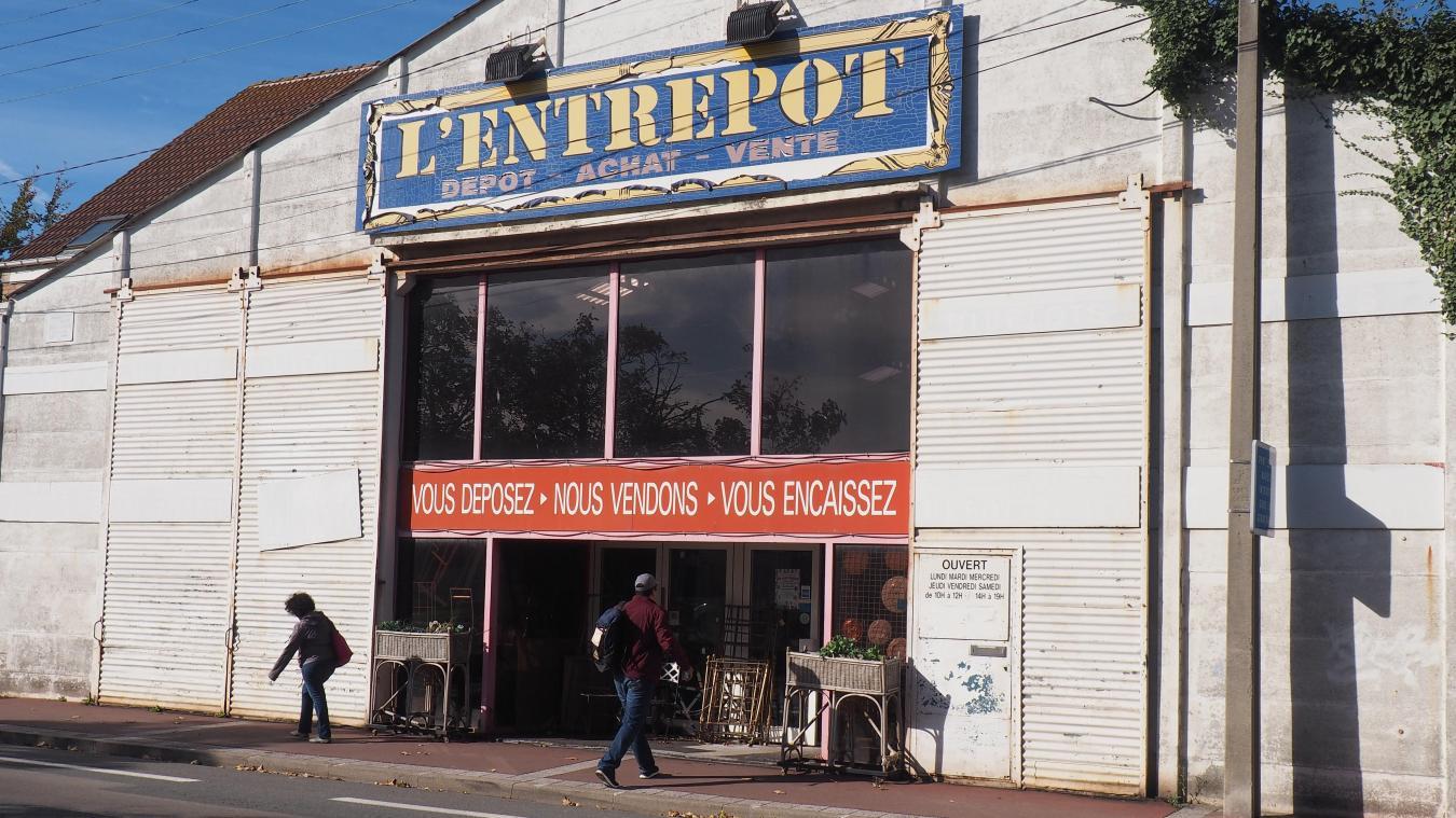 calais futur retraite le gerant du depot vente l entrepot vend son magasin