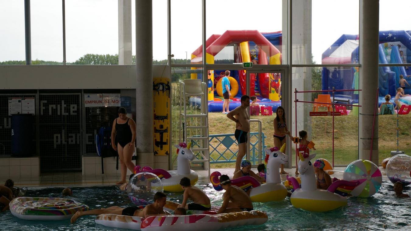 au cœur du mois d aout weppes land a attire les familles a la piscine d herlies