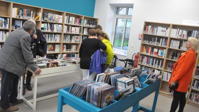 La bibliothèque touche 22 % du village. Un bon chiffre comparé au 15 % de la moyenne départementale.