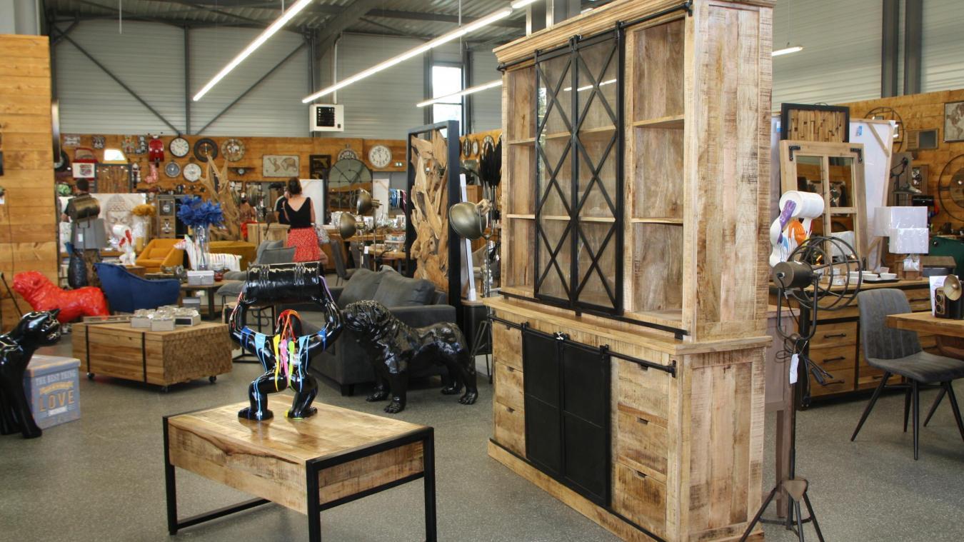 import factory specialiste du meuble et de la deco s implante sur la zone commerciale de leclerc dainville