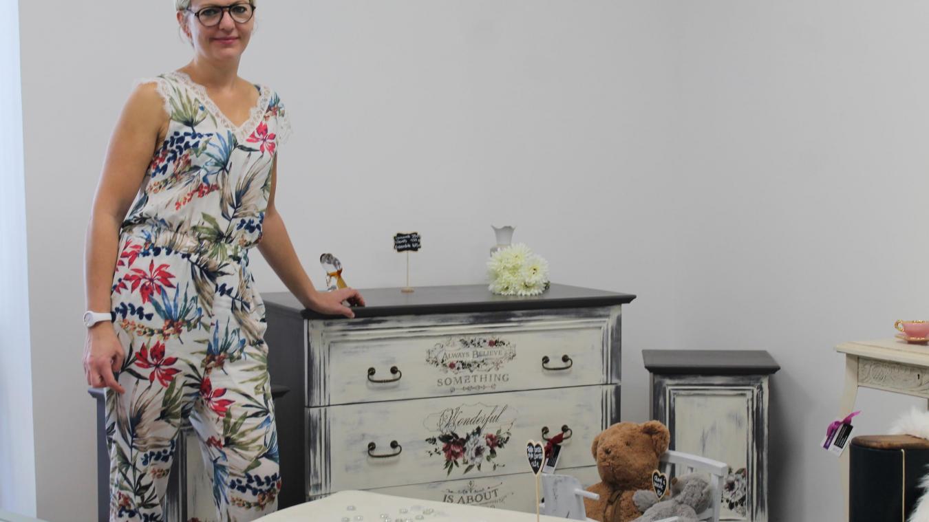 valenciennes l ancienne infirmiere est devenue restauratrice de meubles