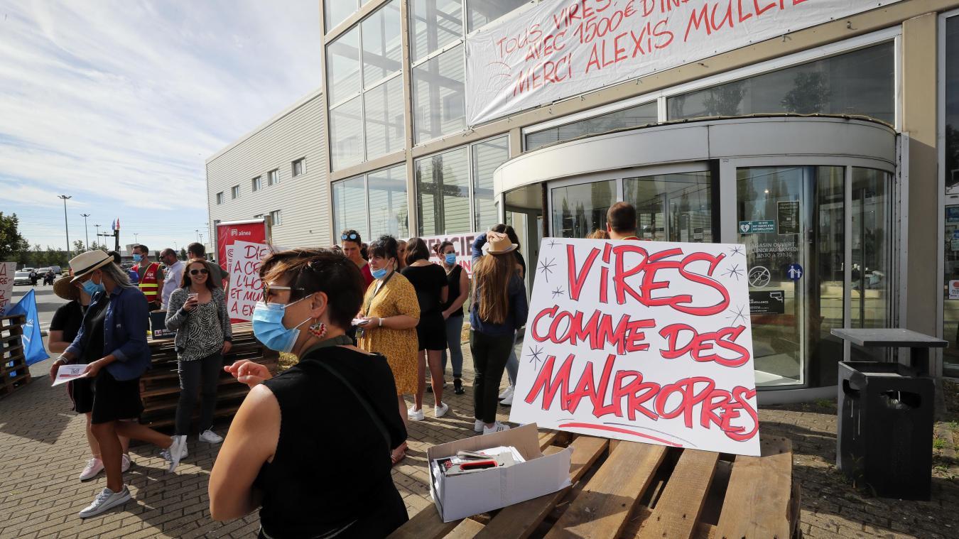 Fermeture D Alinea Des Centaines D Offres De Reclassement Mais Pas A Noyelles Godault