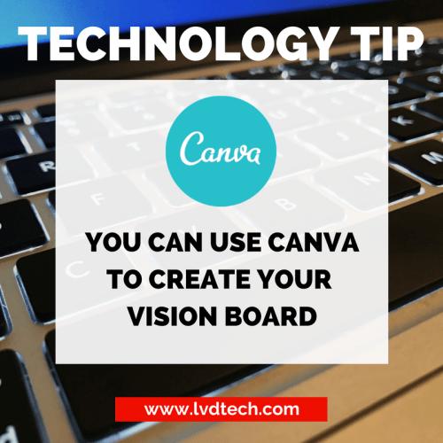digital vision board
