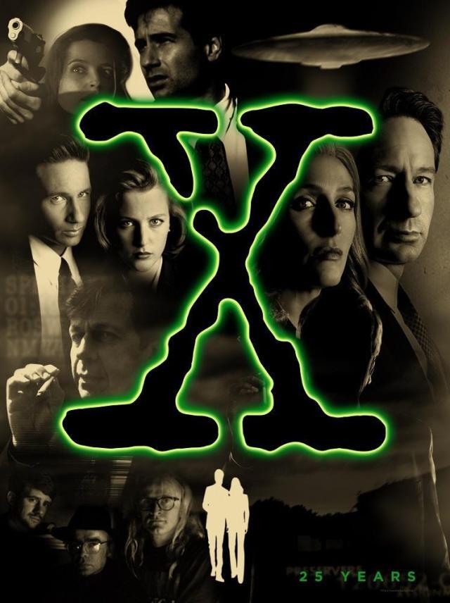 barbie - Des nouvelles Barbie pour les 25 ans de The X-Files Poster 25 ans