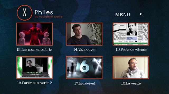 x-files - Détails du DVD X-Philes, Ils Voulaient Croire, premier documentaire Smallthings