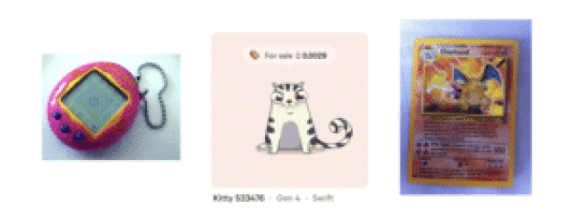cryptokitties comparison