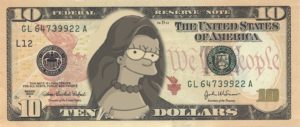 Cryptocurrency Simpsons Coin