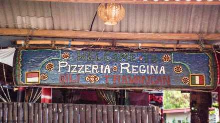 Pizzeria Regina GILI TRAWANGAN INDONESIE