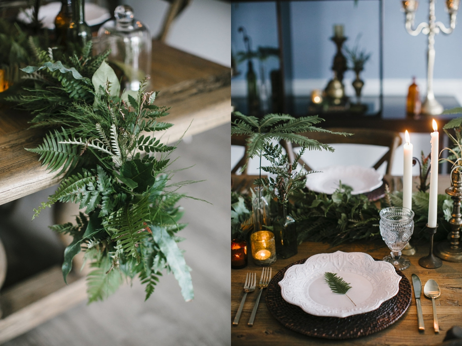 Fern Inspired Tablescape