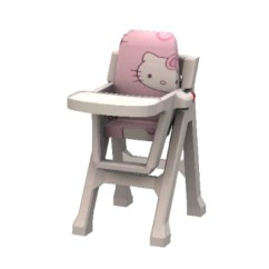 Hello Kitty High Chair Folding Storage Bags By Supergirl93 The Exchange Community