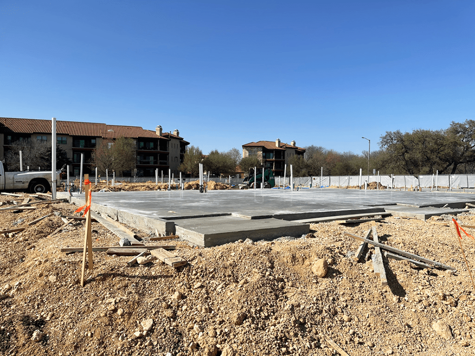 Foundations for the Complete townhomes