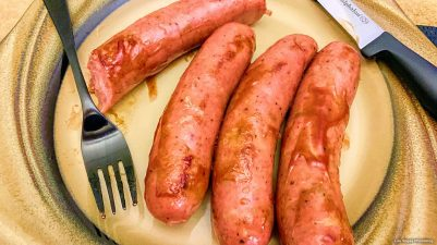 Yummy Apple Sausages