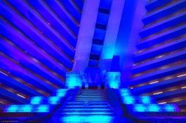 Inside the Luxor Hotel, Las Vegas