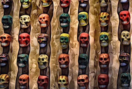 The Wall of Skulls