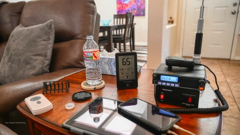 Ham Radio, iPhone and iPad On The Charge