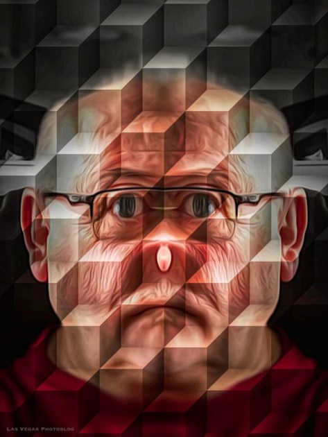 cubed-face