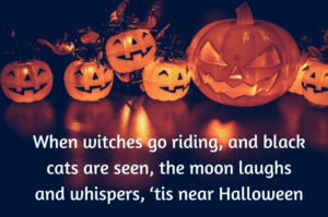 5 Awesome Halloween Poems Halloween Town