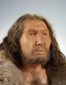 Gesichtsrekonstruktion des Neandertalers. LVR-LandesMuseum Bonn. Foto: J. Vogel, LVR-LandesMuseum Bonn.