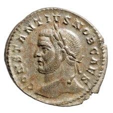 Münze des Constantius. Foto: Jürgen Vogel, LVR-LandesMuseum Bonn
