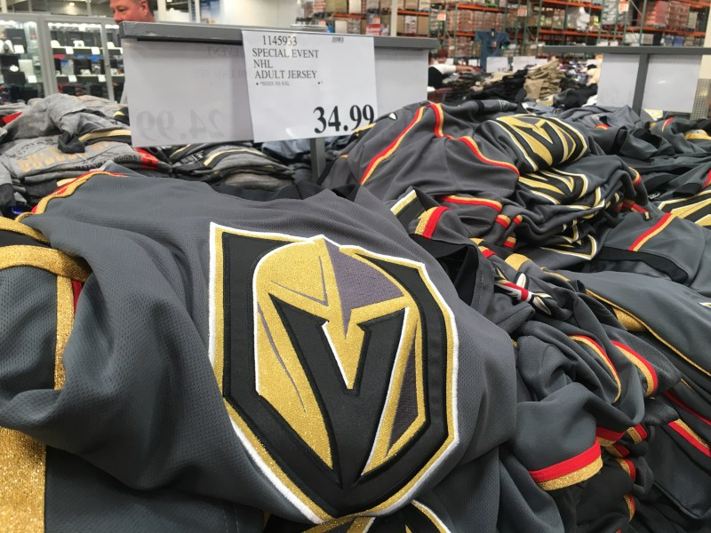 buy online 29ba5 a99e2 Golden Knights Jerseys Selling For $34.99 At Costco Sold Out ...