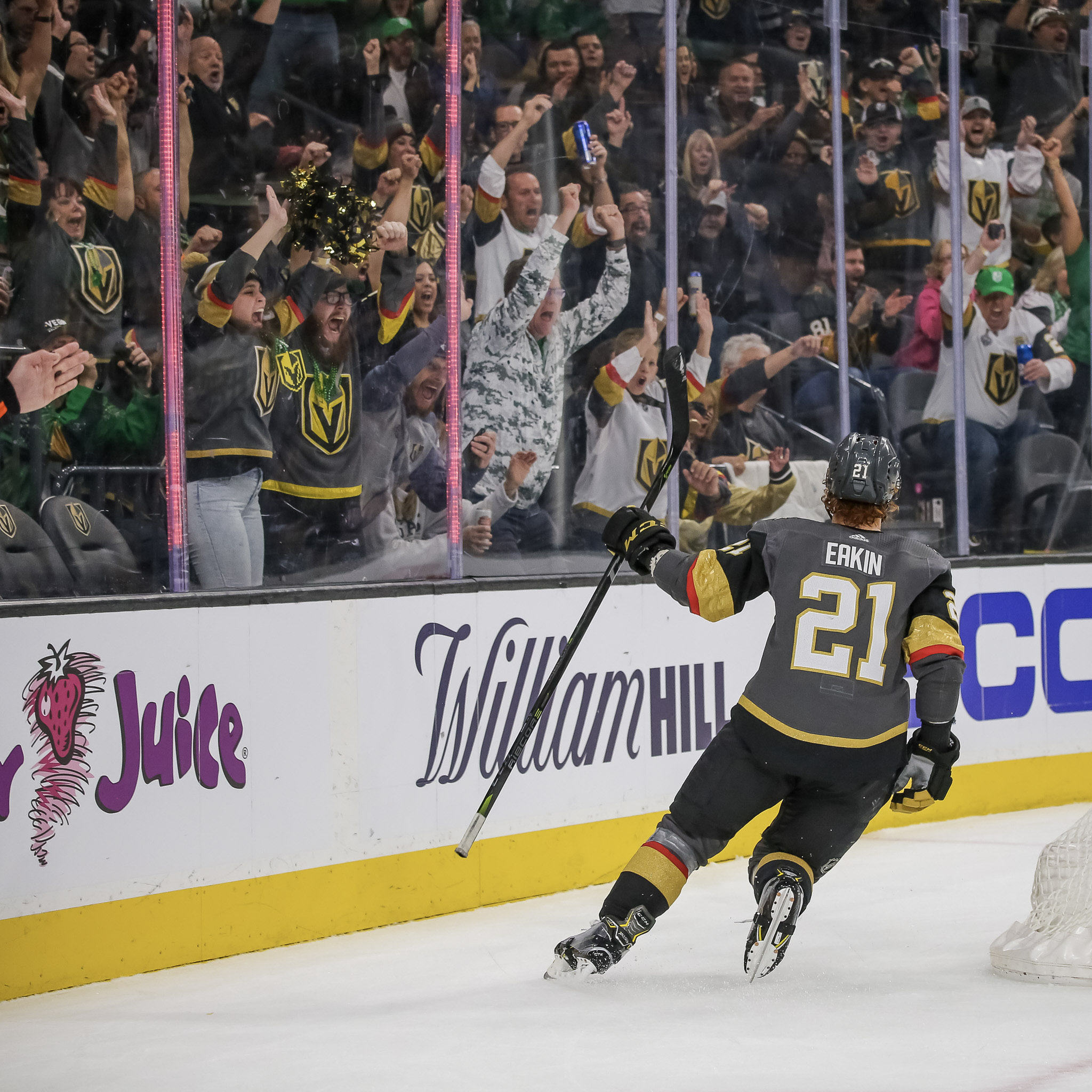 Golden Knights Power Past Oilers, 6-3, Before 18,317 at T-Mobile Arena