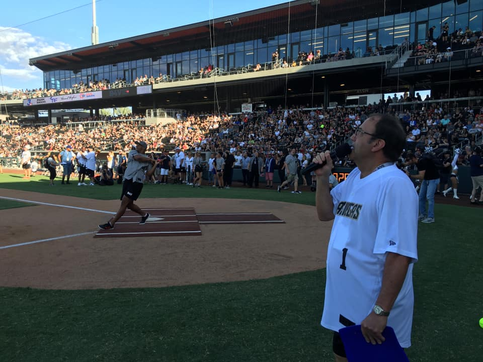 Golden Knights, Raiders and Ringers Raise Money For Charity With Softball Game Entertainment - LVSportsBiz
