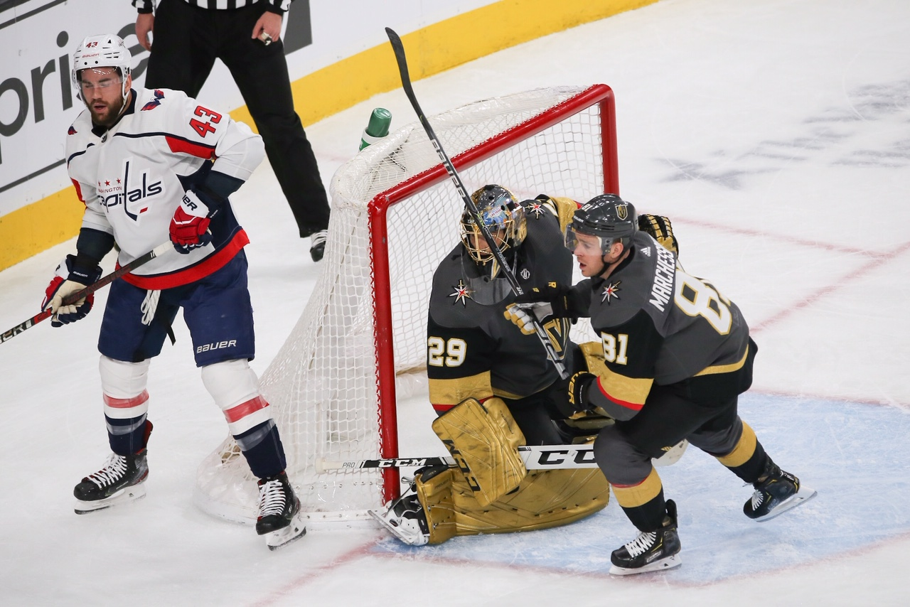 Golden Knights Squeeze Out Another One-Goal Win, 3-2, Over Washington Capitals Before 18,399 - LVSportsBiz