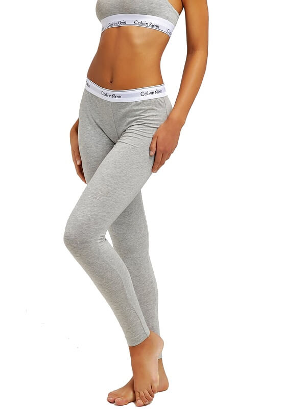 Calvin Klein dámske legíny Legging Pant šedé