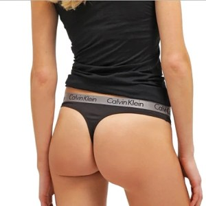 Calvin Klein tanga Radiant Cotton Thong 001