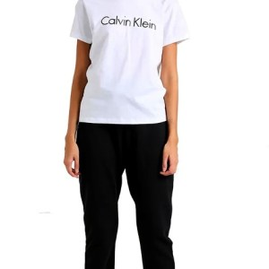 Calvin Klein dámske tričko SS Crew Neck biele 100