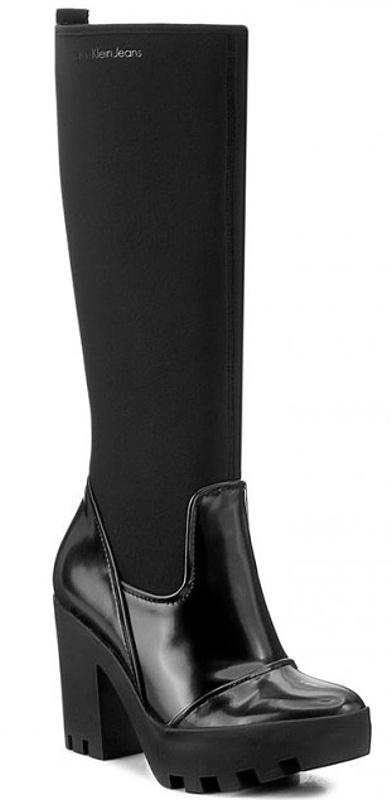 Dámske čižmy Calvin Klein Jeans Sintra black 08
