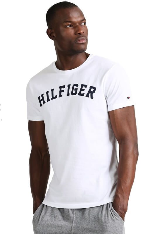 Tričko Tommy Hilfiger Icon SS Tee Logo 100 biele