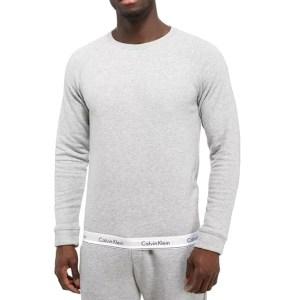 Mikina Calvin Klein Modern Cotton Sweatshirt seda