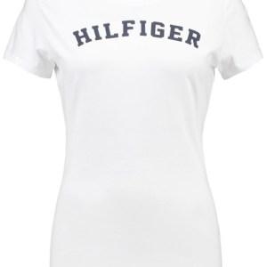Tommy Hilfiger dámske tričko Cotton Icon SS Tee Print Logo biele