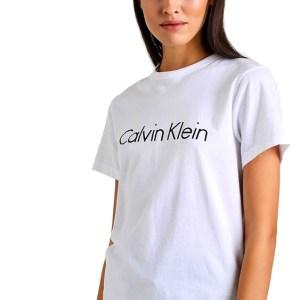 Calvin Klein dámske tričko Cotton SS Crew Neck biele