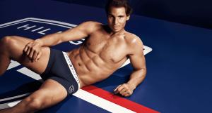Rafael Nadal v boxerkách Tommy Hilfiger