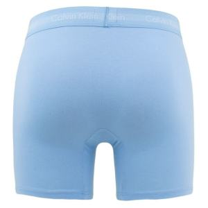 Boxerky Calvin Klein 3 Pack Boxer Briefs LKZ modré spodná bielizeň
