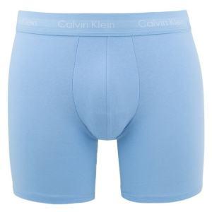 Boxerky Calvin Klein 3 Pack Boxer Briefs LKZ svetlo-modré