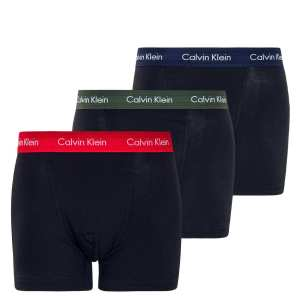 Boxerky Calvin Klein 3 Pack Cotton Stretch Trunks KDW