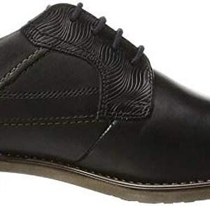 Pánske kožené topánky Bugatti čierne